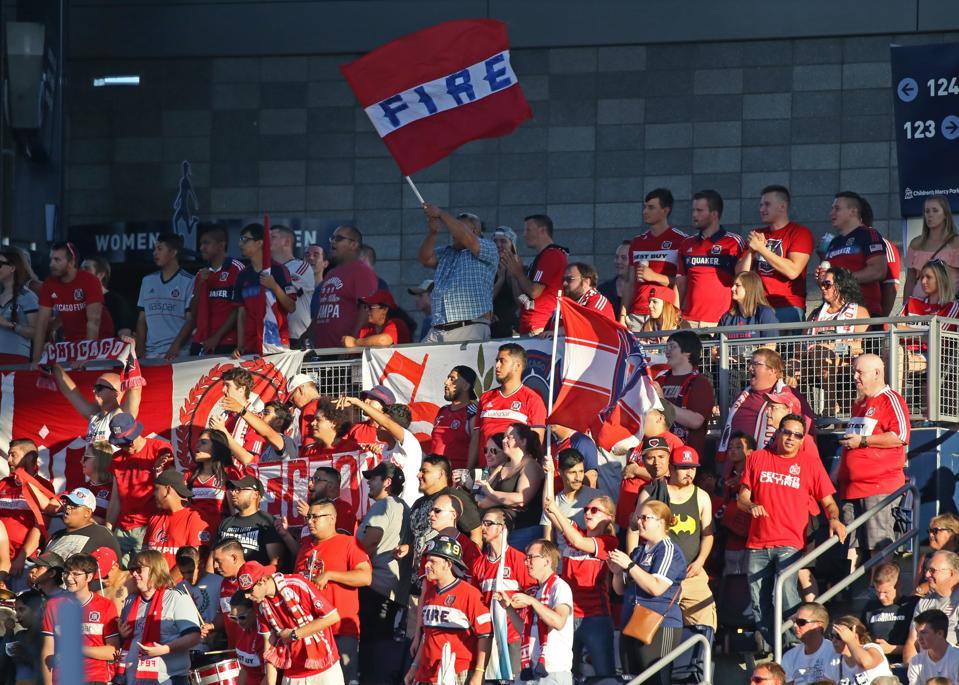 SOCCER: JUL 29 MLS - Chicago Fire at Sporting KC