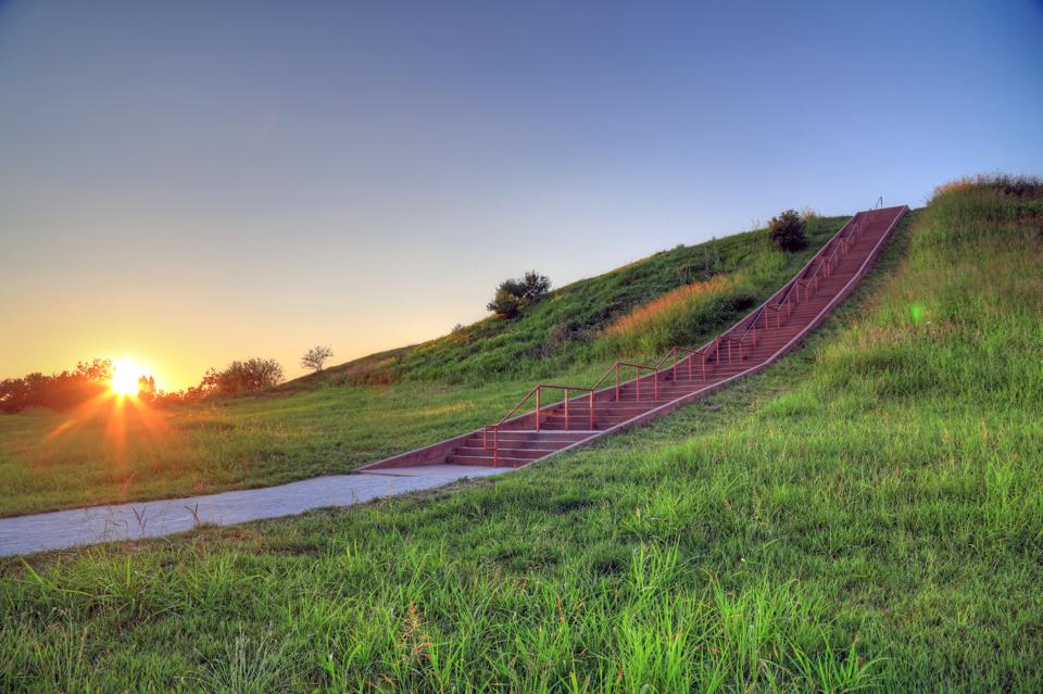 Cahokia Mounds in Collinsville, Illinois