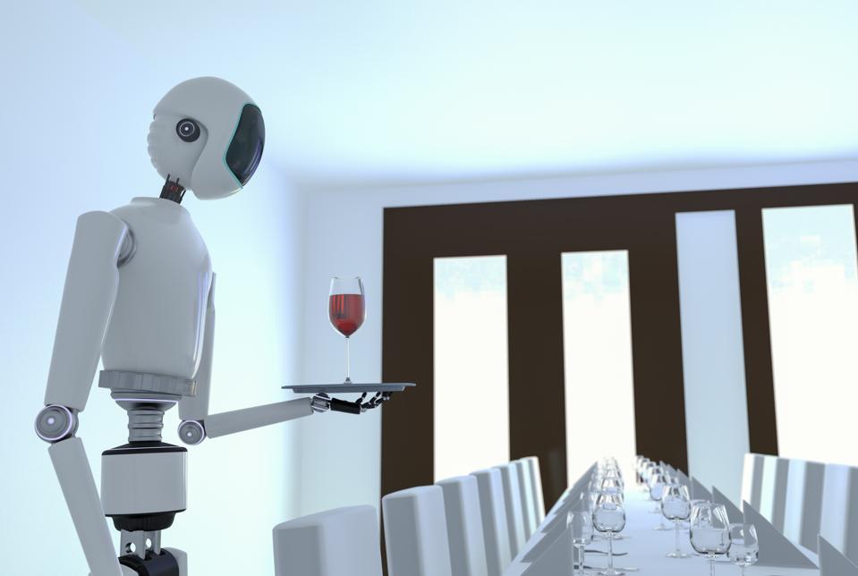 Service AI robot