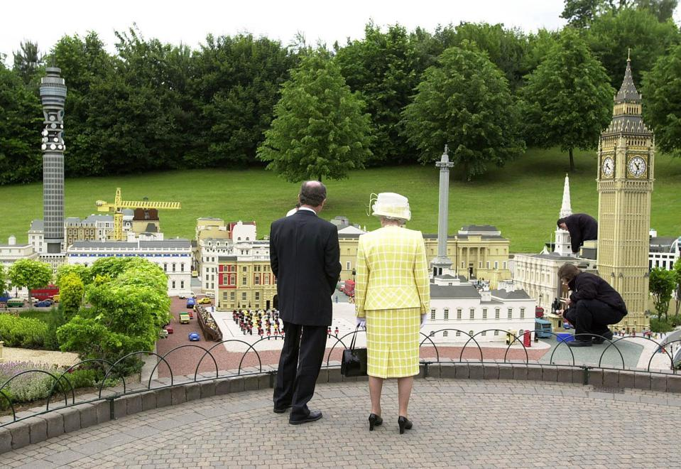 Queen visits Legoland Windsor
