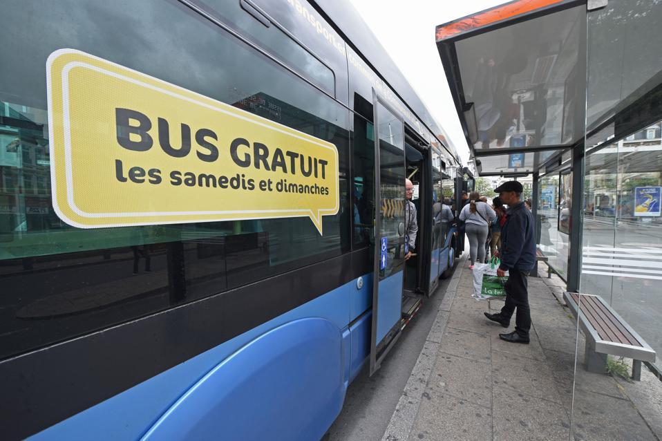 FRANCE-TRANSPORT-BUS-ENVIRONMENT