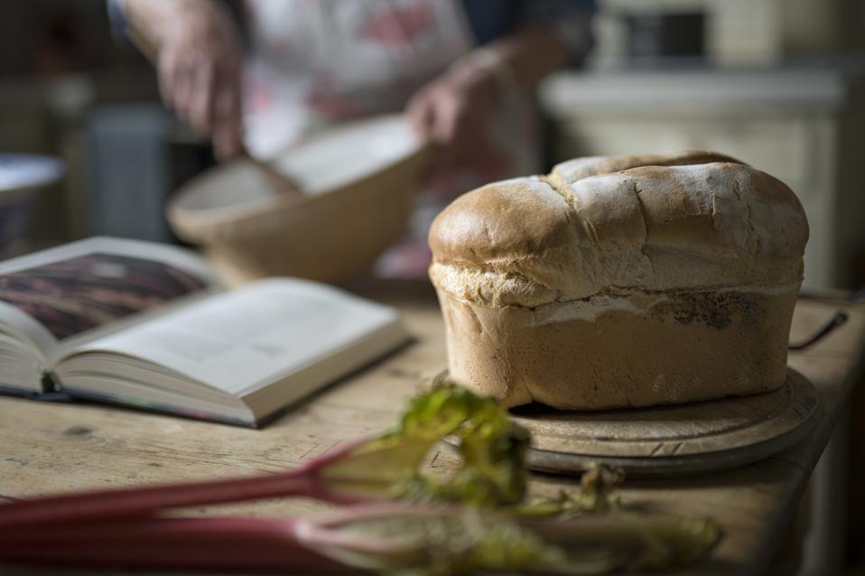 Miche de pain maison