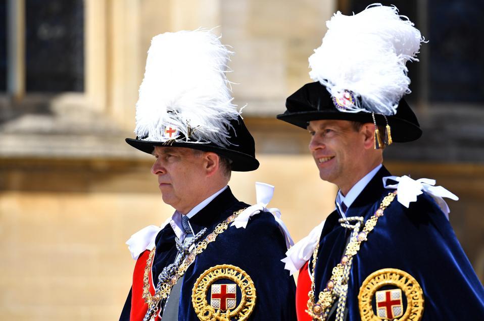 Britain Royals Order of The Garter