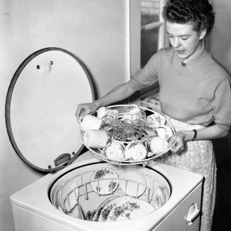 Technology - Household Inventions - Dishmaster - 1952