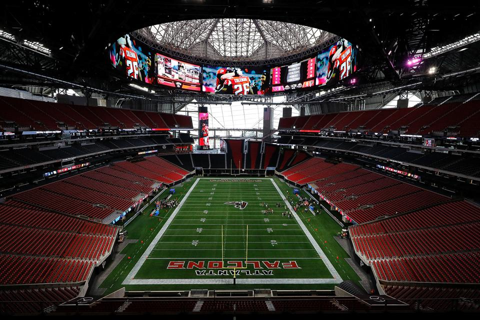 What makes the atlanta falcons 39 new stadium the best ever for Atlanta ga mercedes benz stadium