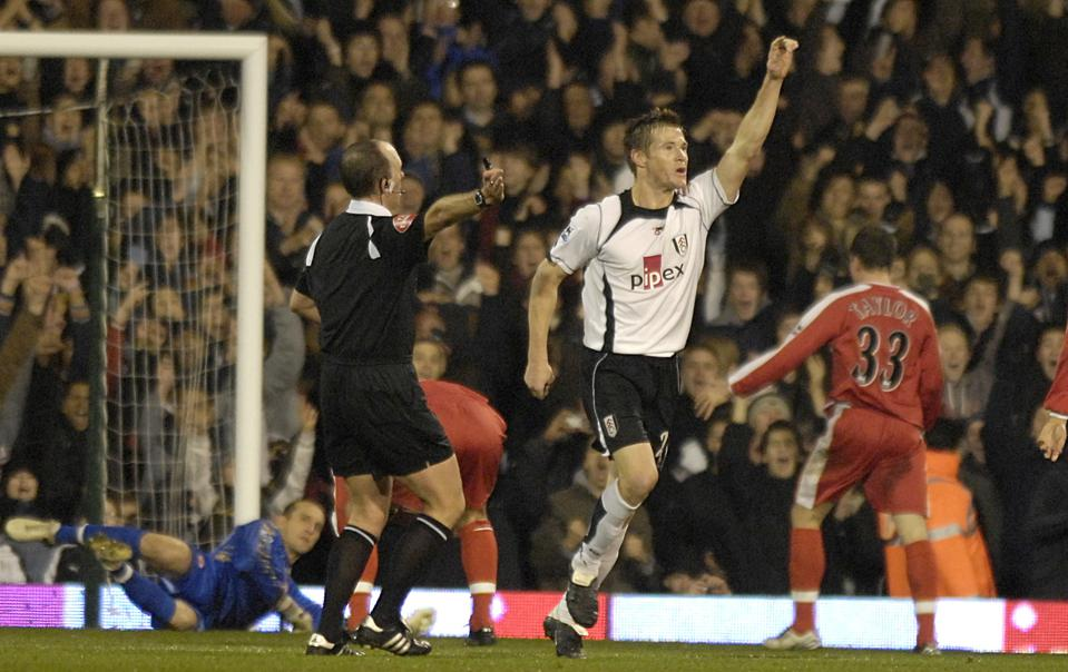 Soccer - FA Barclays Premiership - Fulham v Middlesbrough - Craven Cottage