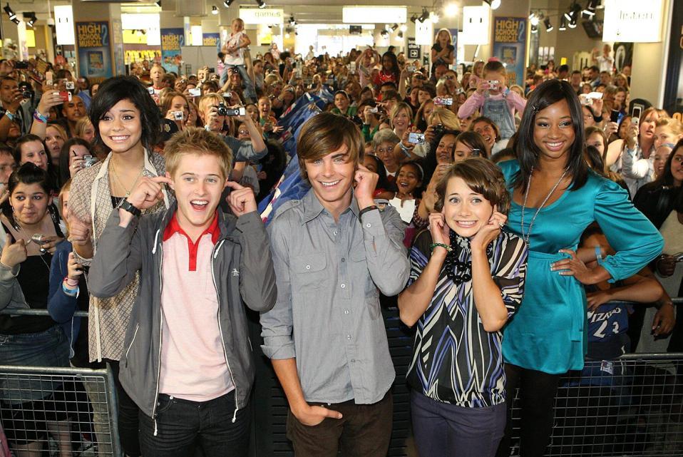 High School Musical 2 Photocall - London