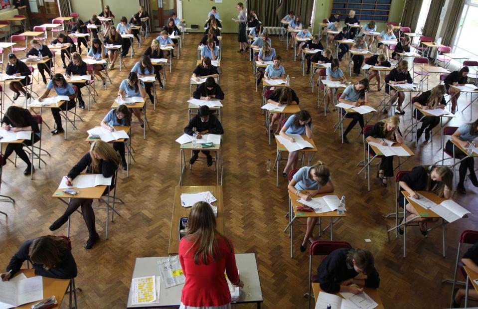 GCSE Examination stock