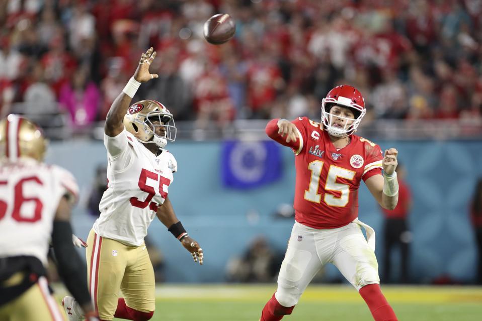 49ers Chiefs Super Bowl Football NFL Patrick Mahomes