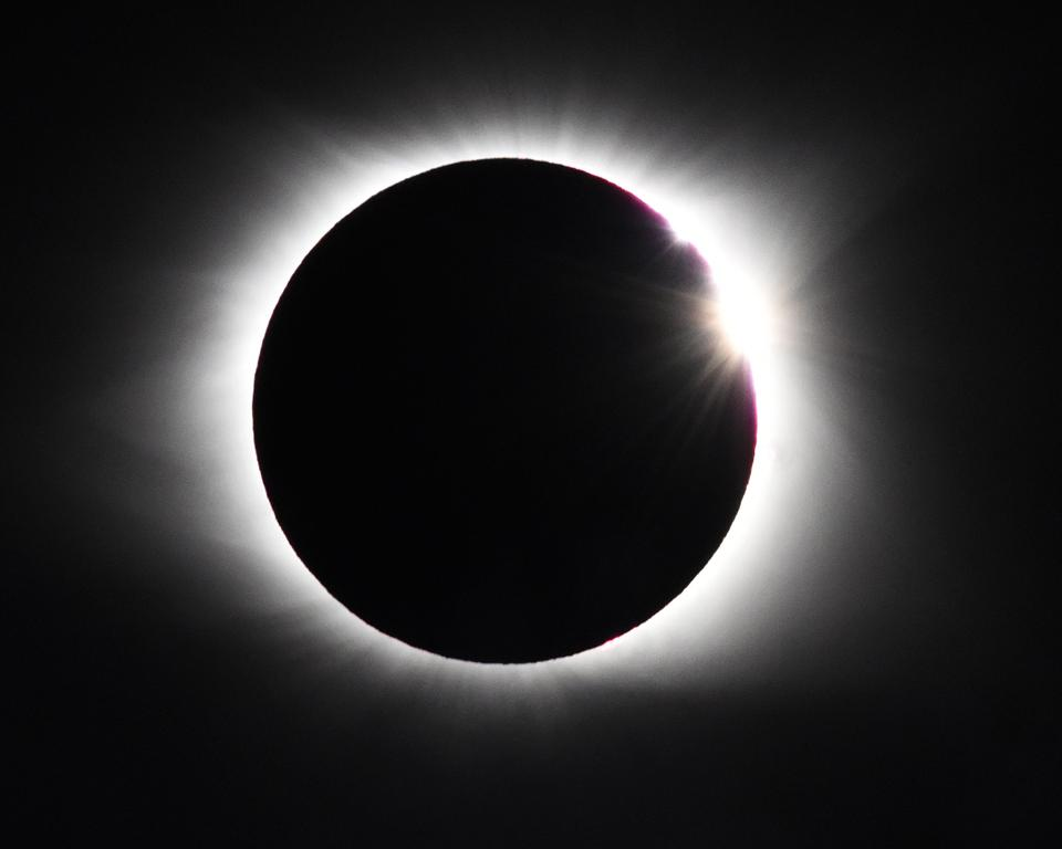 Solar Eclipse Over The United States