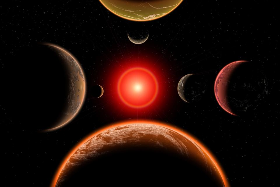 Most exoplanets orbit distant stars, but some of the brightest stars in our night sky have exoplanets, too. (Photo by: Education Images/Universal Images Group via Getty Images)