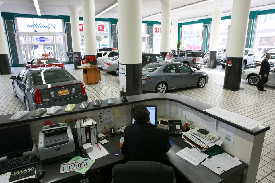 Fate Of Many Car Dealerships Unknown As Auto Industry Crisis Debated In DC