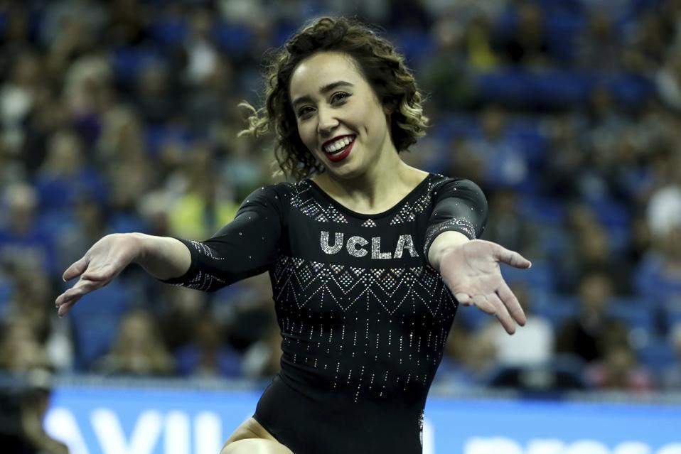 Nebraska UCLA Gymnastics