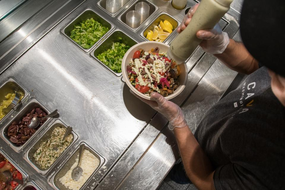 PHOTO: Food cover on Fast Casual Restaurants- 8/15