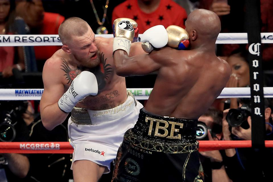how to get mcgregor vs mayweather match