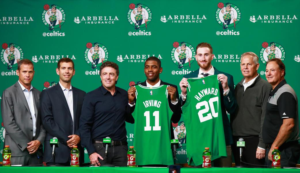 Boston Celtics, Oklahoma City Thunder Title Bids Highlight NBA 2017-2018 Future Wagers