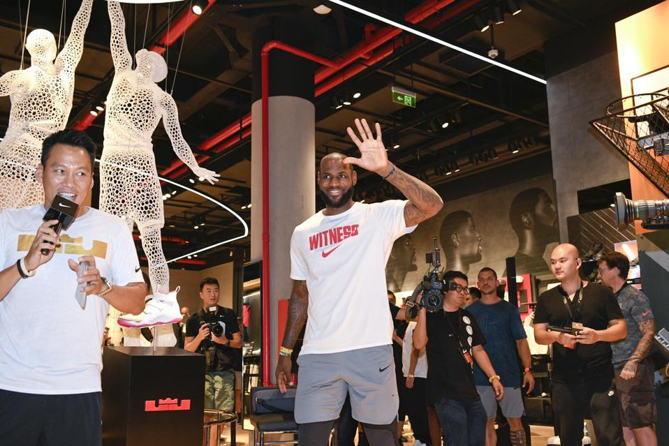 LeBron James Visits Beijing