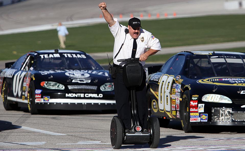 Kevin James at Texas Motor Speedway