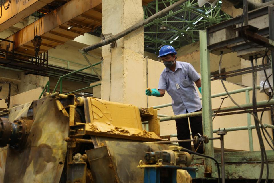 Inside Indias secure uranium processing facility