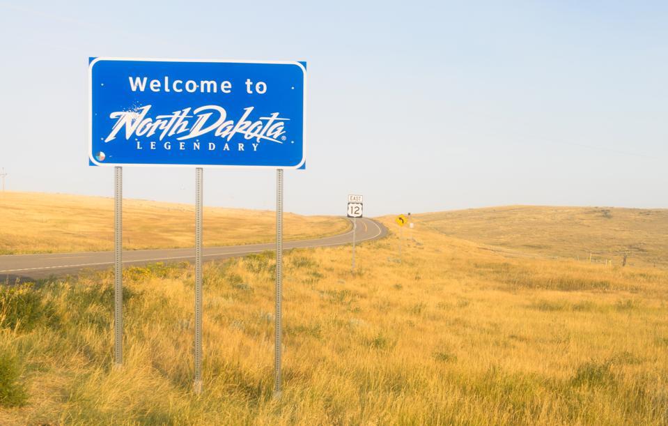 North Dakota travel quarantine