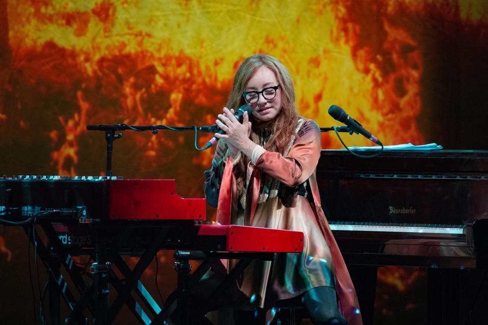 Tori Amos Performs At Le Grand Rex
