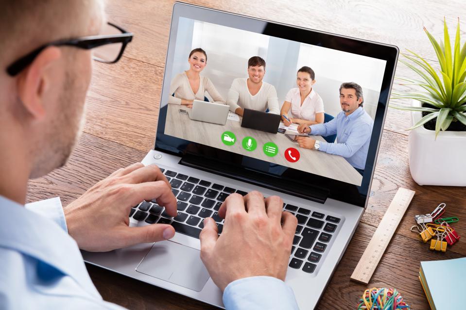 Leader Videoconferencing With Team