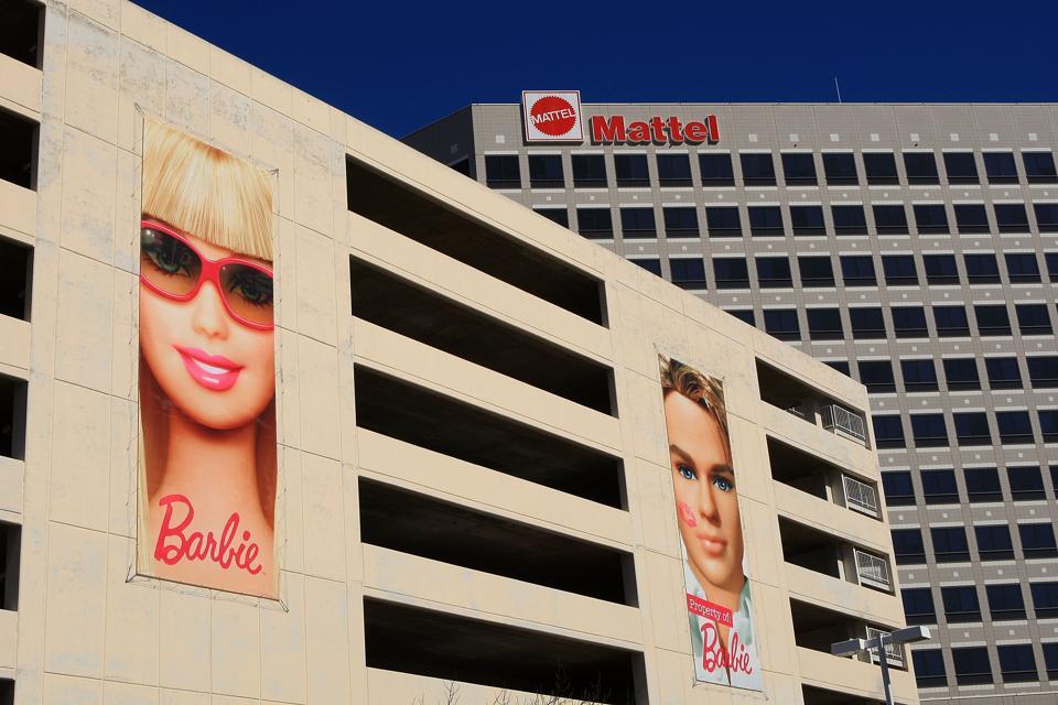 Mattel, Inc. offices in El Segundo, Los Angeles, California.