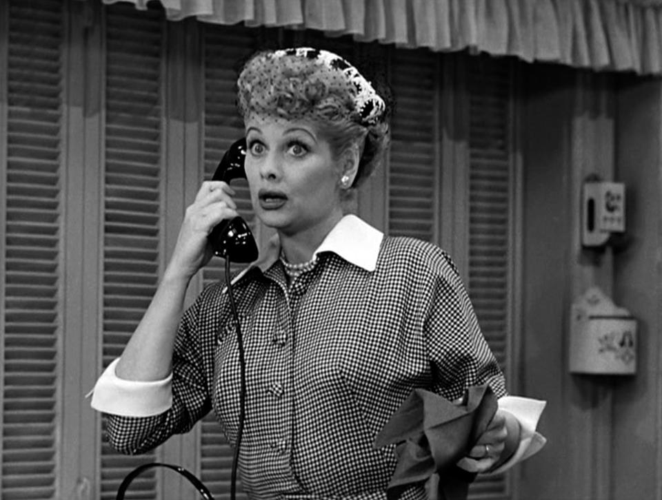 Lucille Ball In ″I Love Lucy'