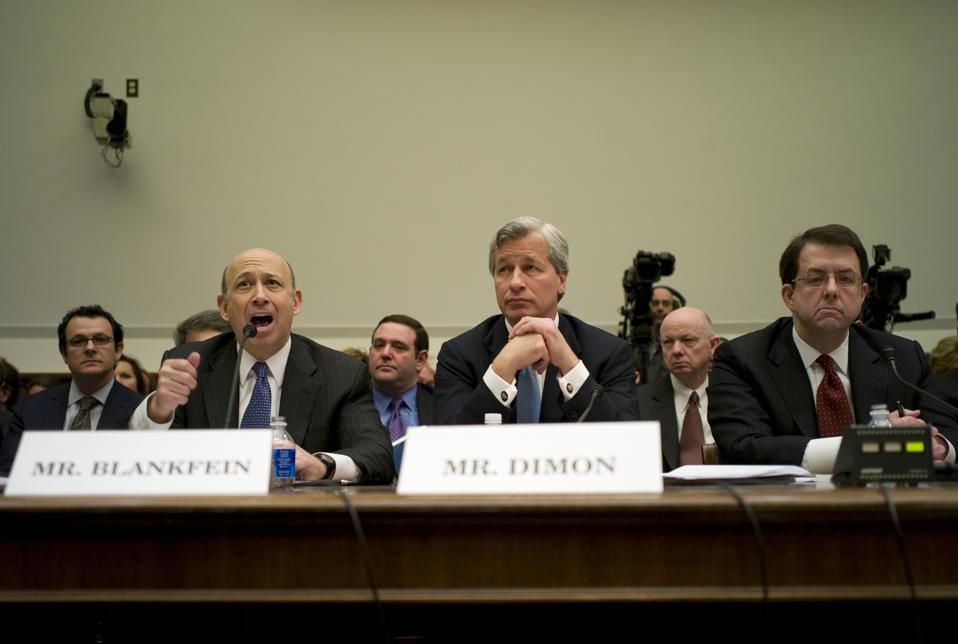 Bank Executives Testify on TARP