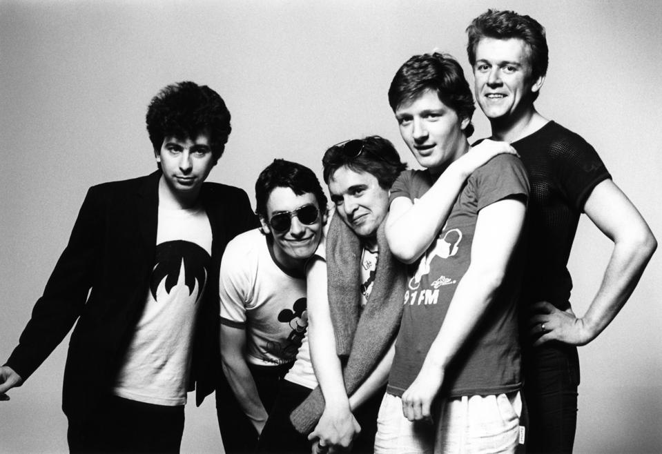 Photo of Glenn TILBROOK and SQUEEZE and Jools HOLLAND and Chris DIFFORD