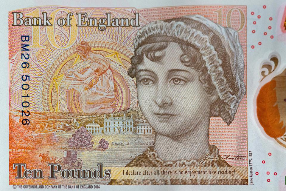 New ten pound note released 2017