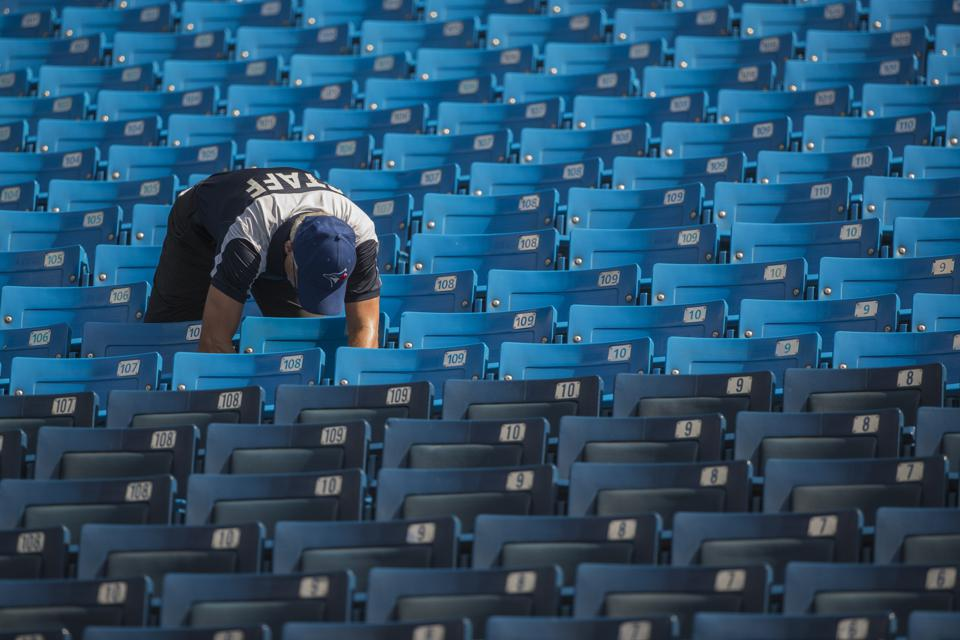 MLB: SEP 23 Yankees at Blue Jays