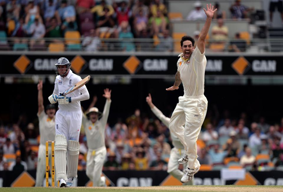 Cricket - The Ashes 2013-14 - First Test - Australia v England - Day Four - The Gabba