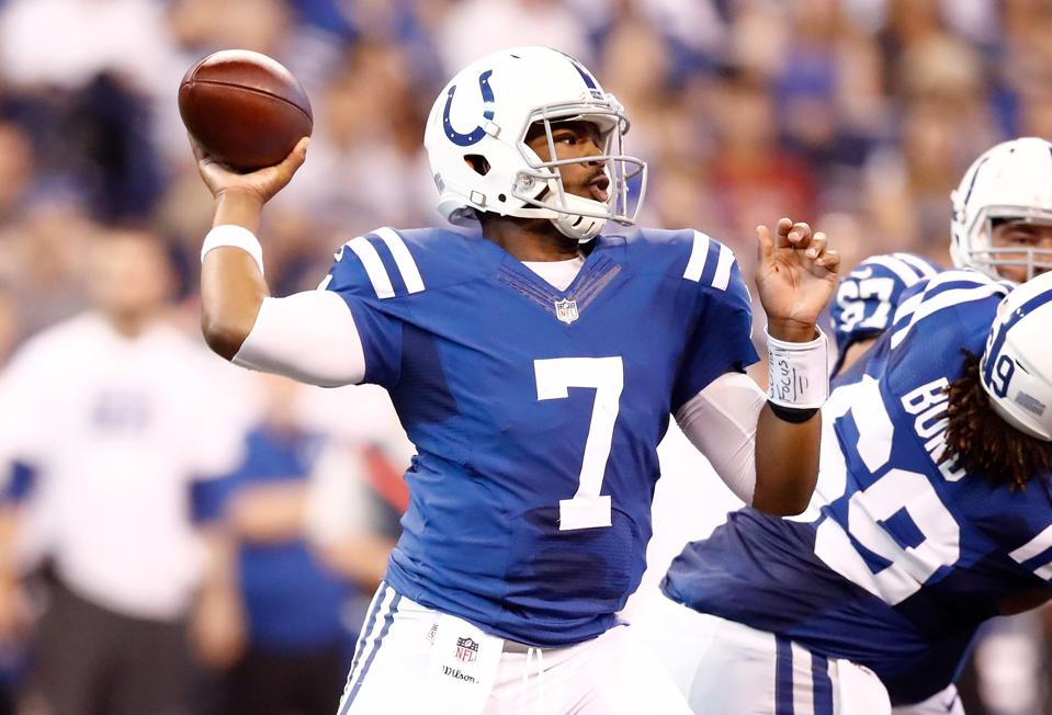 official photos 7f94b 236ad Who Needs Luck? Colts -1 Over Falcons As Our Top Week 3 NFL Pick