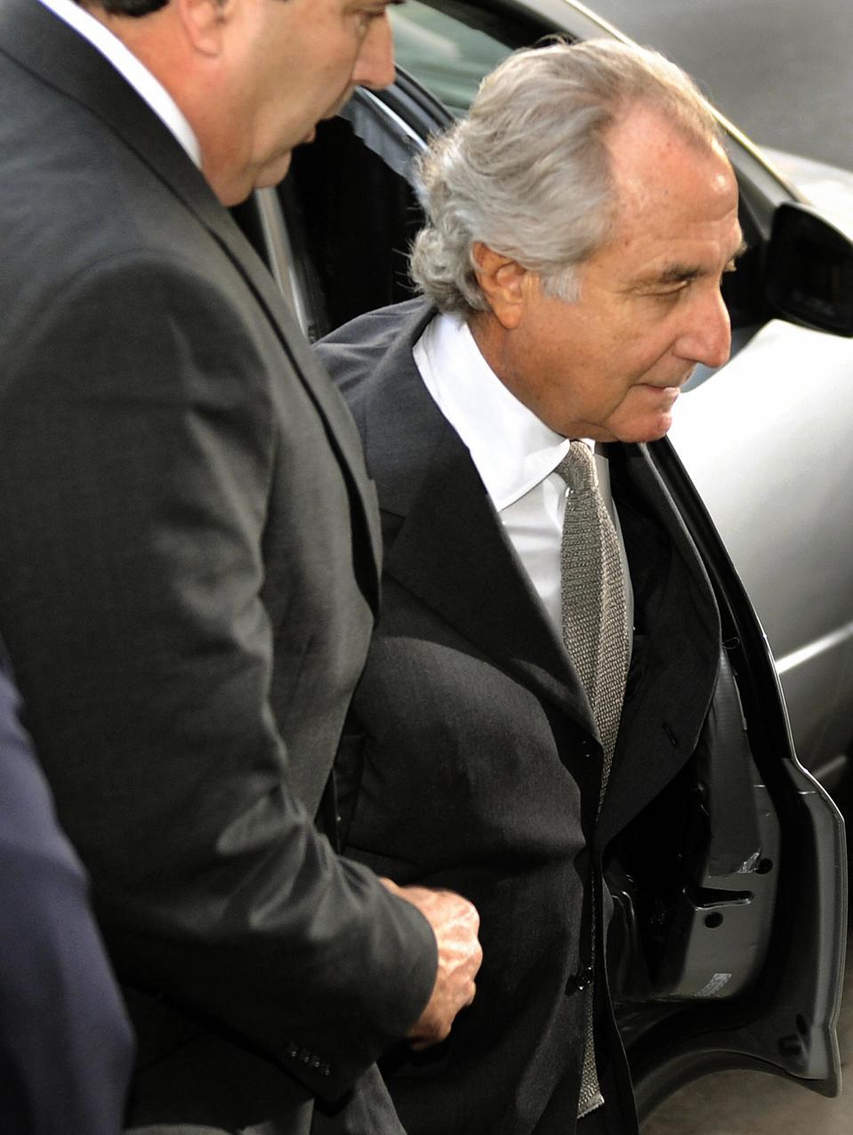 Disgraced Wall Street financier Bernard