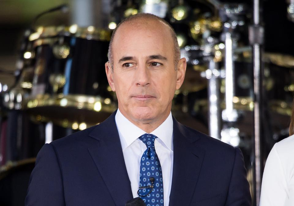 Matt Lauer in 2017.