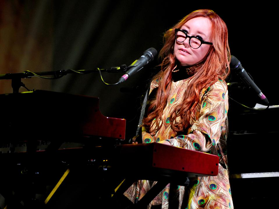 Tori Amos Performs At The Palace Theatre
