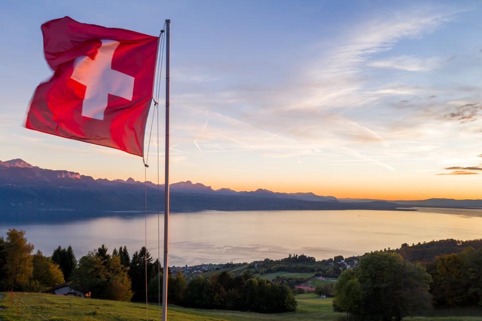SWITZERLAND-FLAG-WEATHER