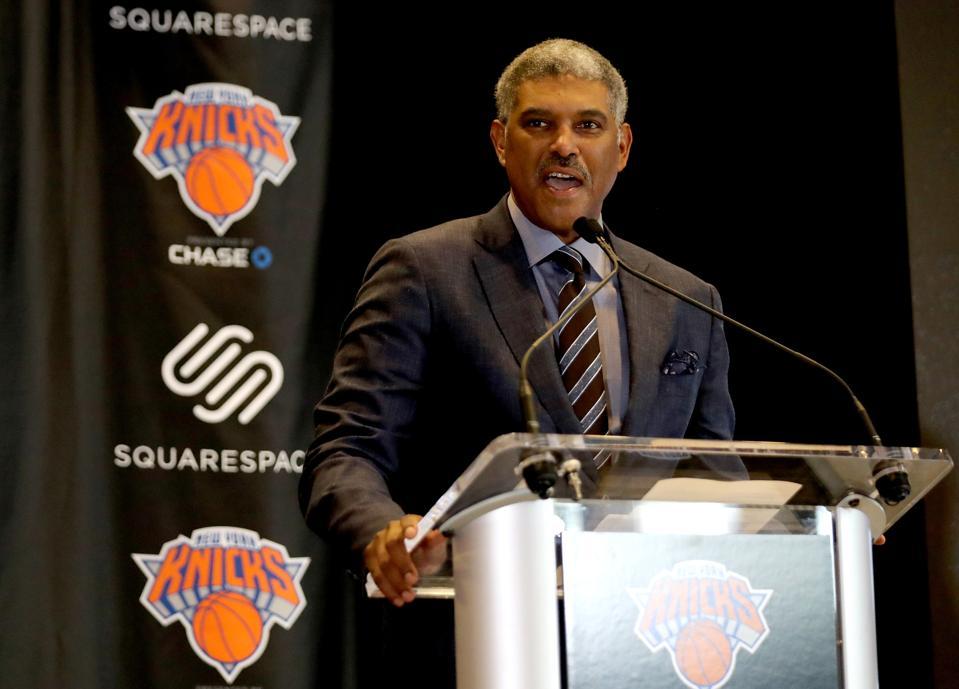 New York Knicks Unveil Jersey Partnership