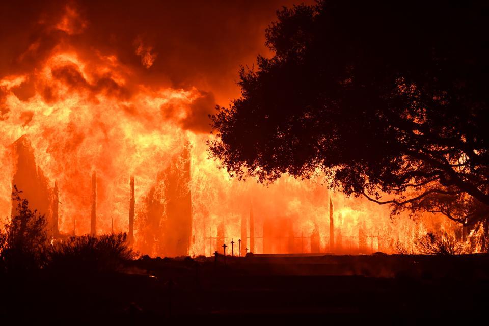 (California fires in October 11-12, 2017)