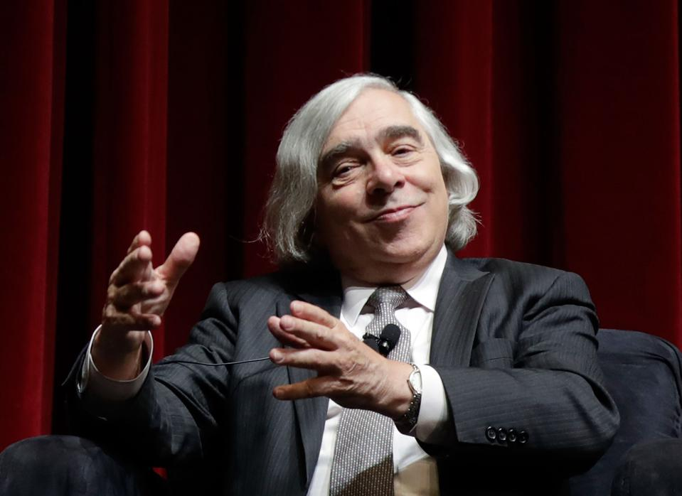 Former U.S. Sec. of Energy Ernest Moniz. (Photo by Isaac Brekken/Getty Images for National Clean Energy Summit)