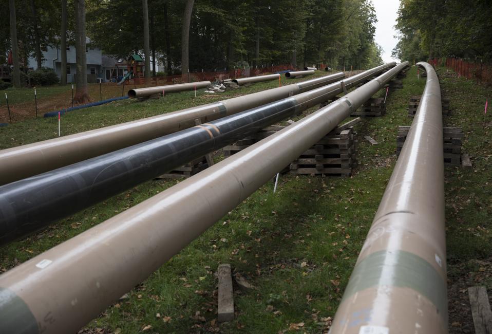 Sunoco Gas Liquids Pipeline In Marchwood, Pennsylvania