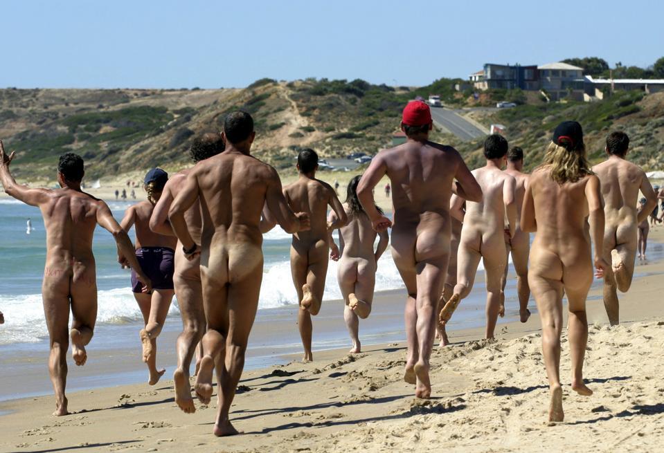 AUSTRALIA-NUDE OLYMPICS-MARATHON