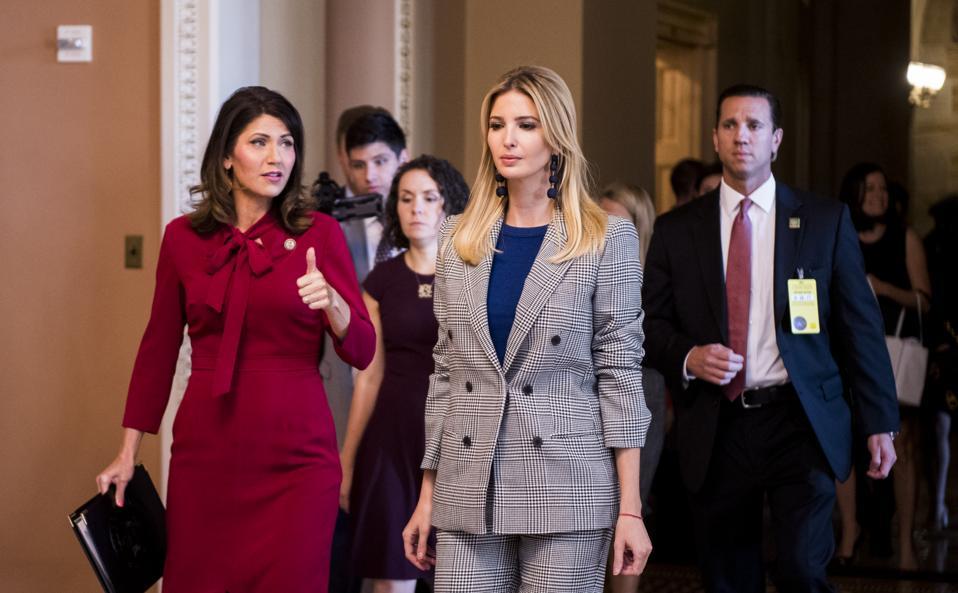 Ivanka Trump in the Capitol