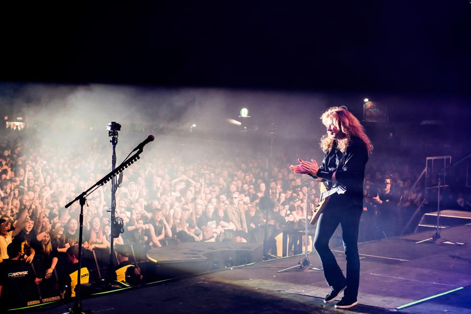 Megadeth Portrait And Live Shoot, Catton Hall