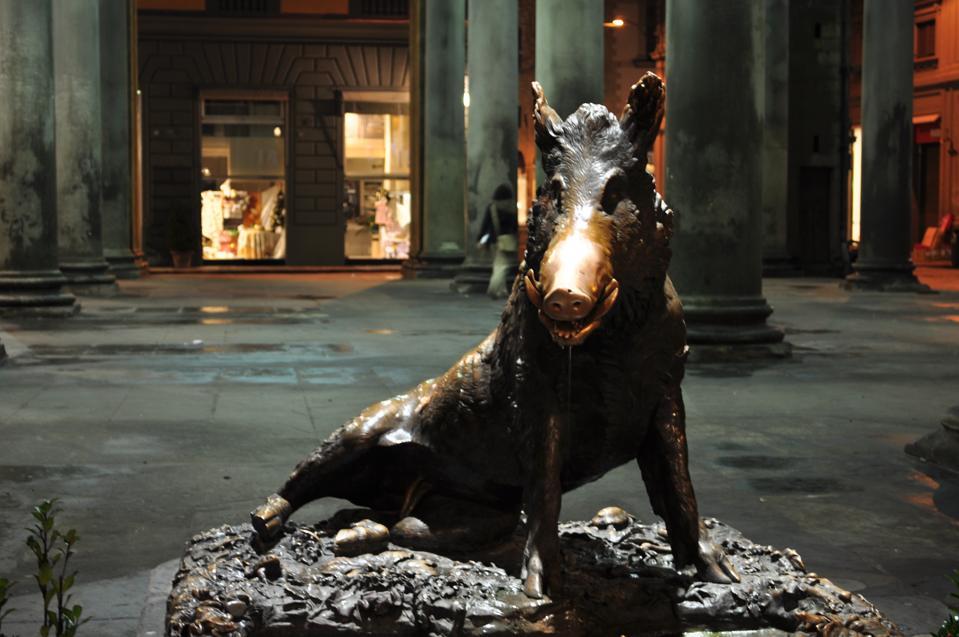 Fontana del Porcellino en Florencia
