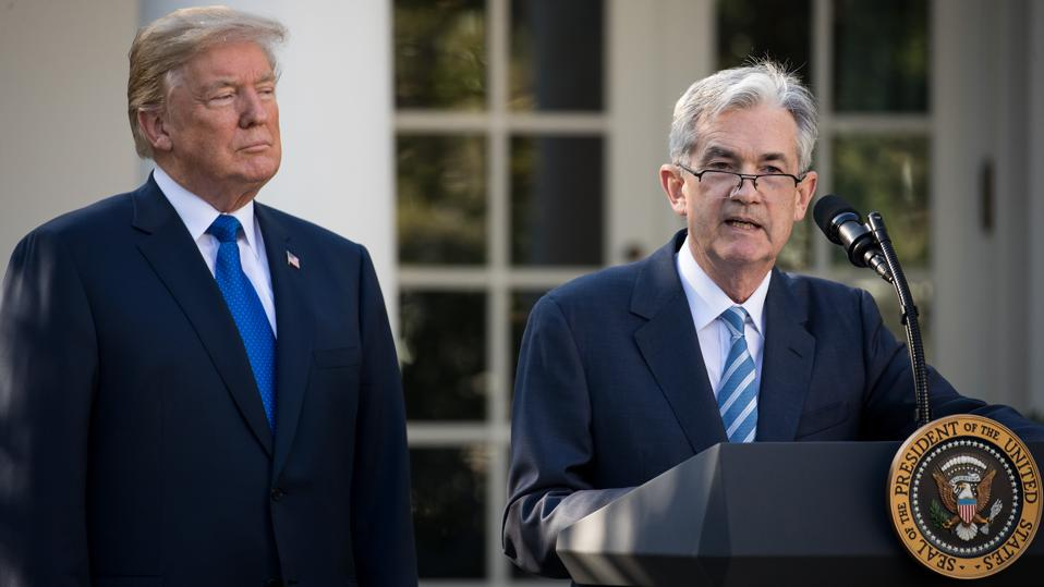 President Trump has threatened to fire Fed chairman Jerome Powell, despite appointing him in 2017.