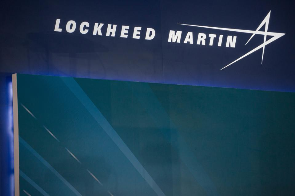 The Lockheed Martin logo from the Aerospace and defense...