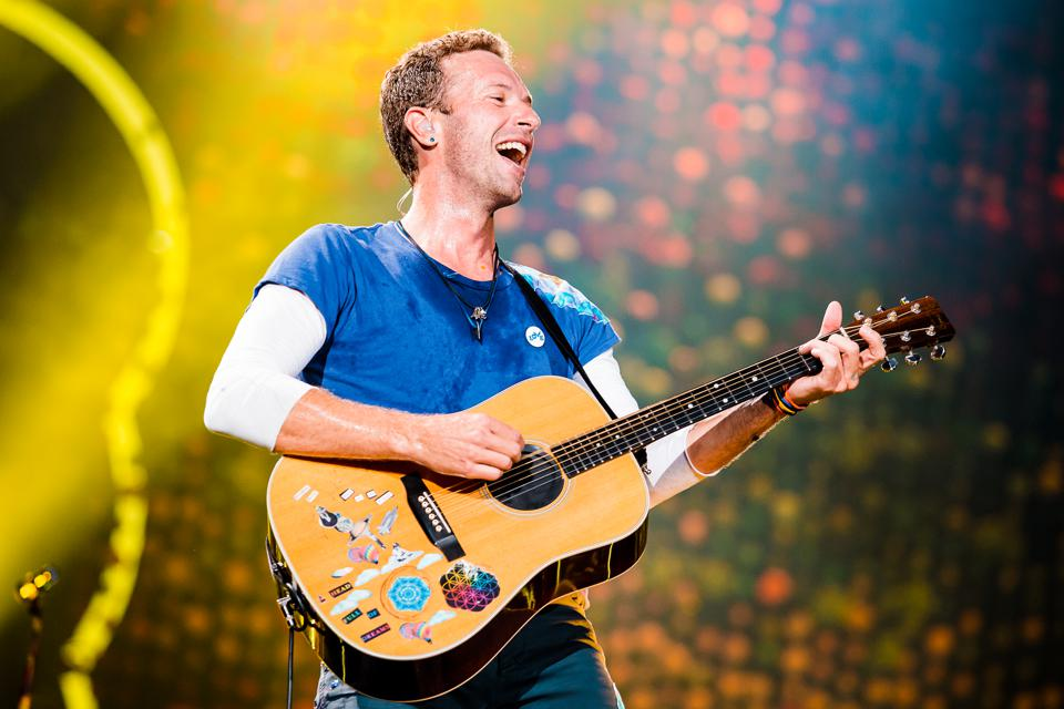 Coldplay Ties The Record For The Second-Most Top 10 Hits On The Rock Chart