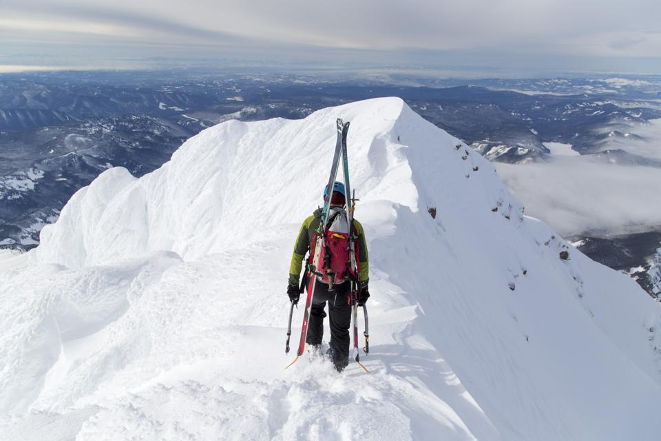 Climbing in the Cascade Mountains